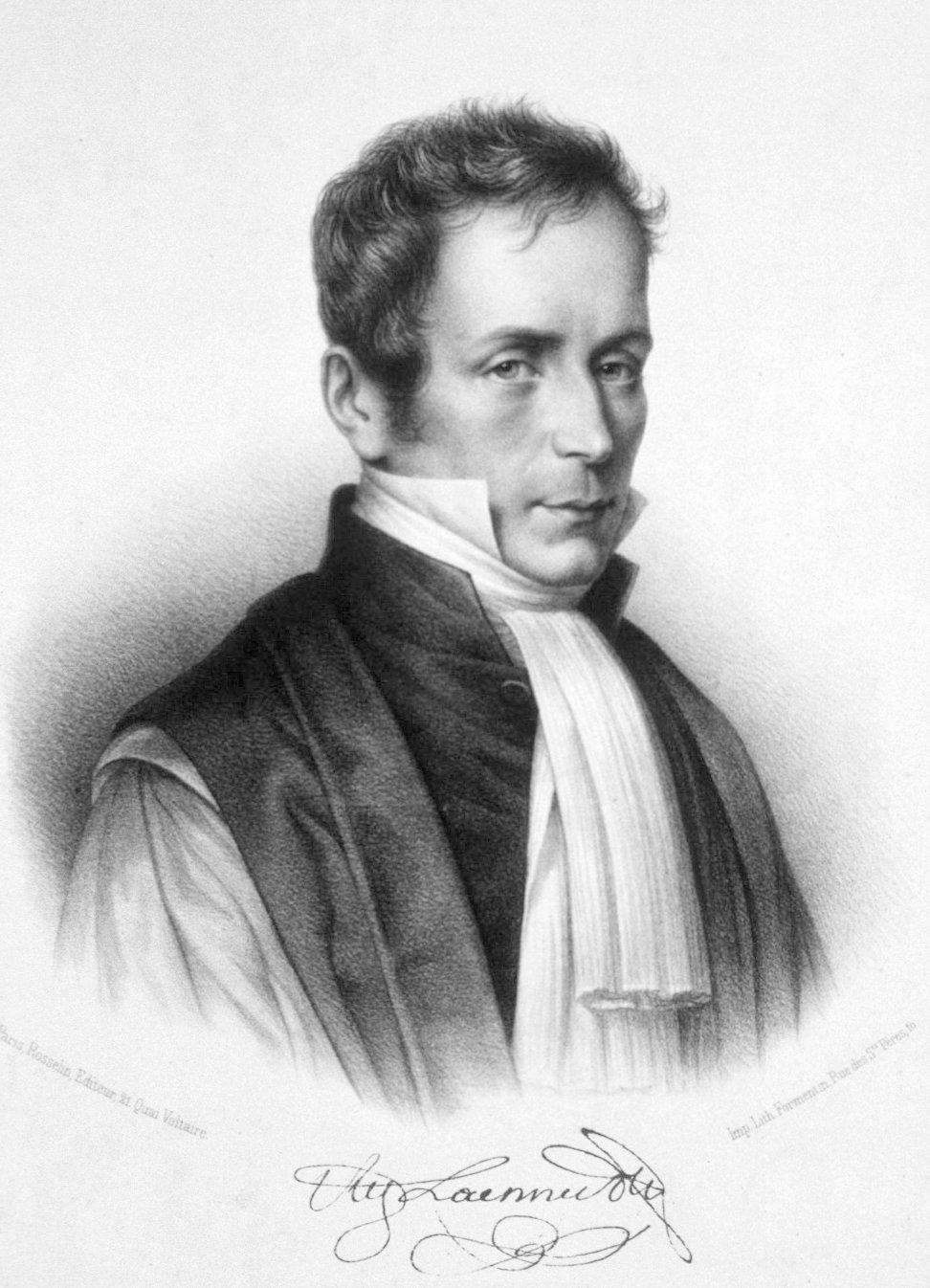 Wynalazca stetoskopu René Laennec
